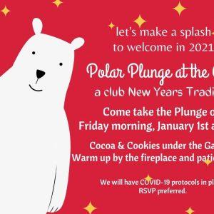 Polar Plunge at the Club 2021