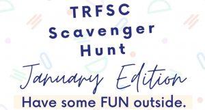 TRFSC Scavenger Hunt January Edition 2021