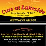 Cars at Lakeside