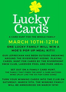 Lucky Cards March 20-12, 2021