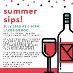Summer Sips! July 2021
