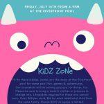 Kidz Zone July 2021