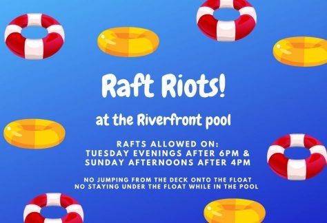Raft Riots! Tuesdays 2021