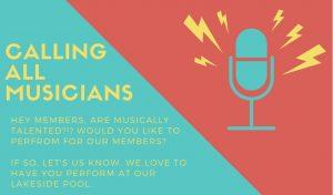 Calling All Musicians