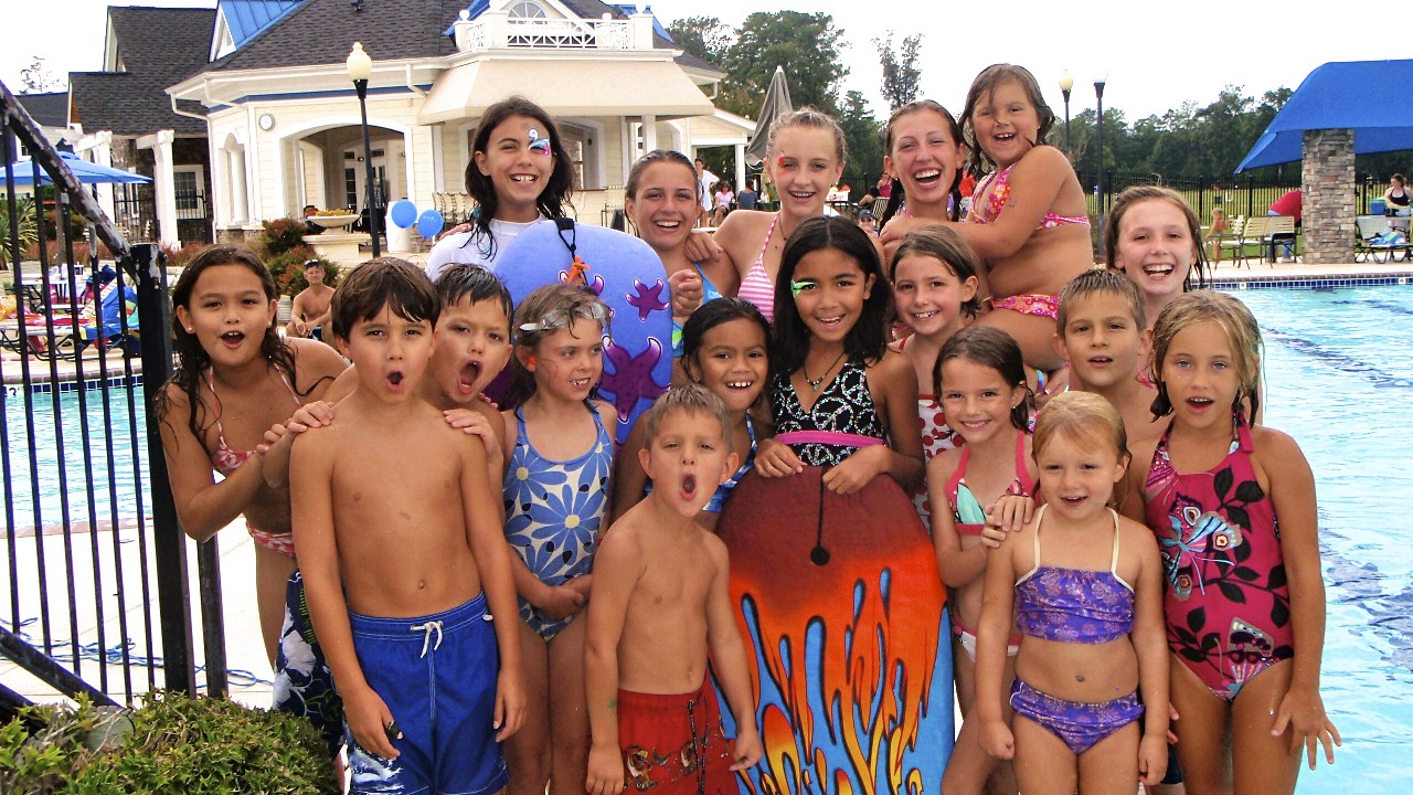 Riverfront Swim Club Kids Party